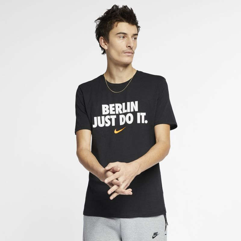 Nike Sportswear City Edition (Berlin) Men's T-Shirt - Black