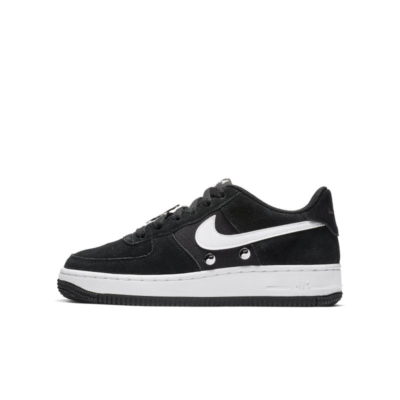 Image of Scarpa Nike Air Force 1 LV8 - Ragazzi - Nero