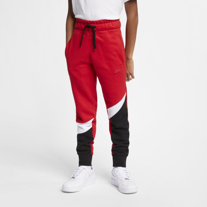 Nike Sportswear Older Kids' (Boys') Trousers - Red