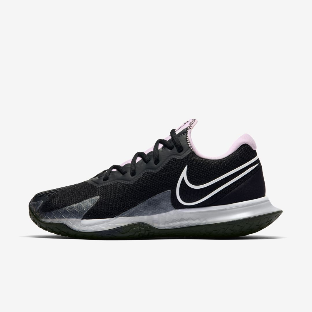 Nike Court Air Zoom Vapor Cage 4 Women's Hard Court Tennis Shoe (black) - Clearance Sale In Black,pink Foam,dark Smoke Grey,white