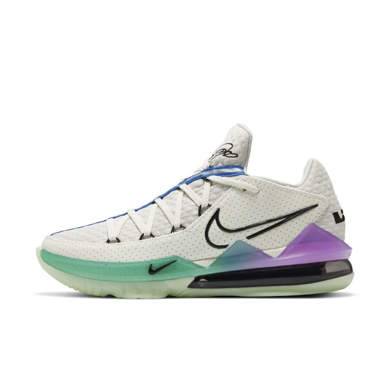 Nike LeBron 17 Low Basketbalschoen - Groen