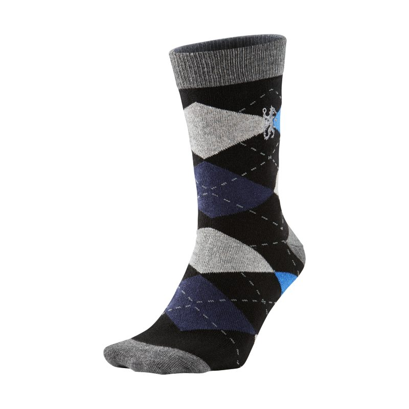 Chelsea FC Argyle Socks - Black