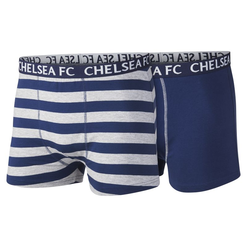 Chelsea FC (2-Pair) Men's Boxer Shorts - Blue