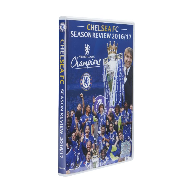 2016/17 Chelsea FC Season Review DVD - not applicable