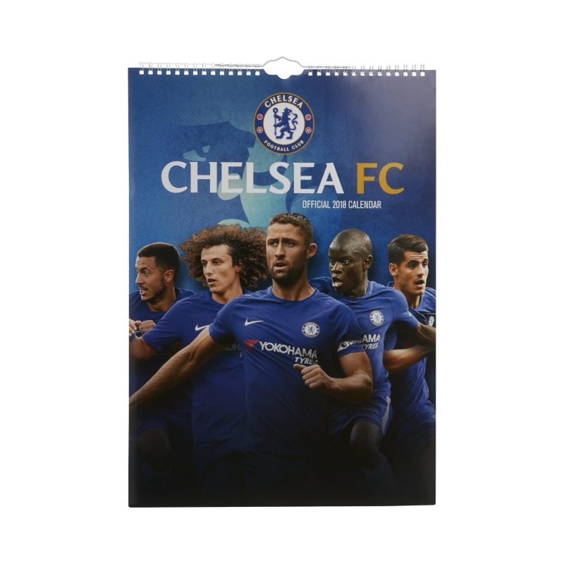 Chelsea FC 2018 Wall Calendar - not applicable