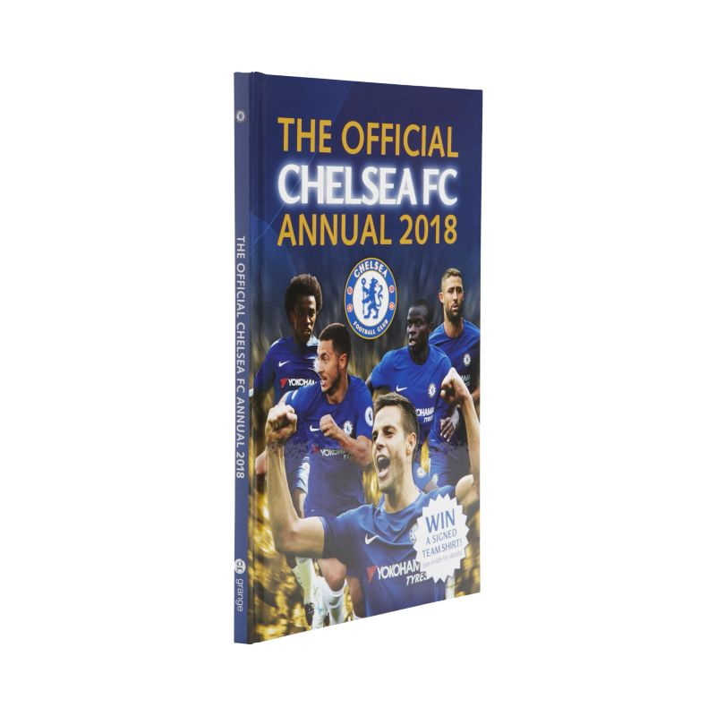 Official Chelsea FC Annual 2018 Book - not applicable