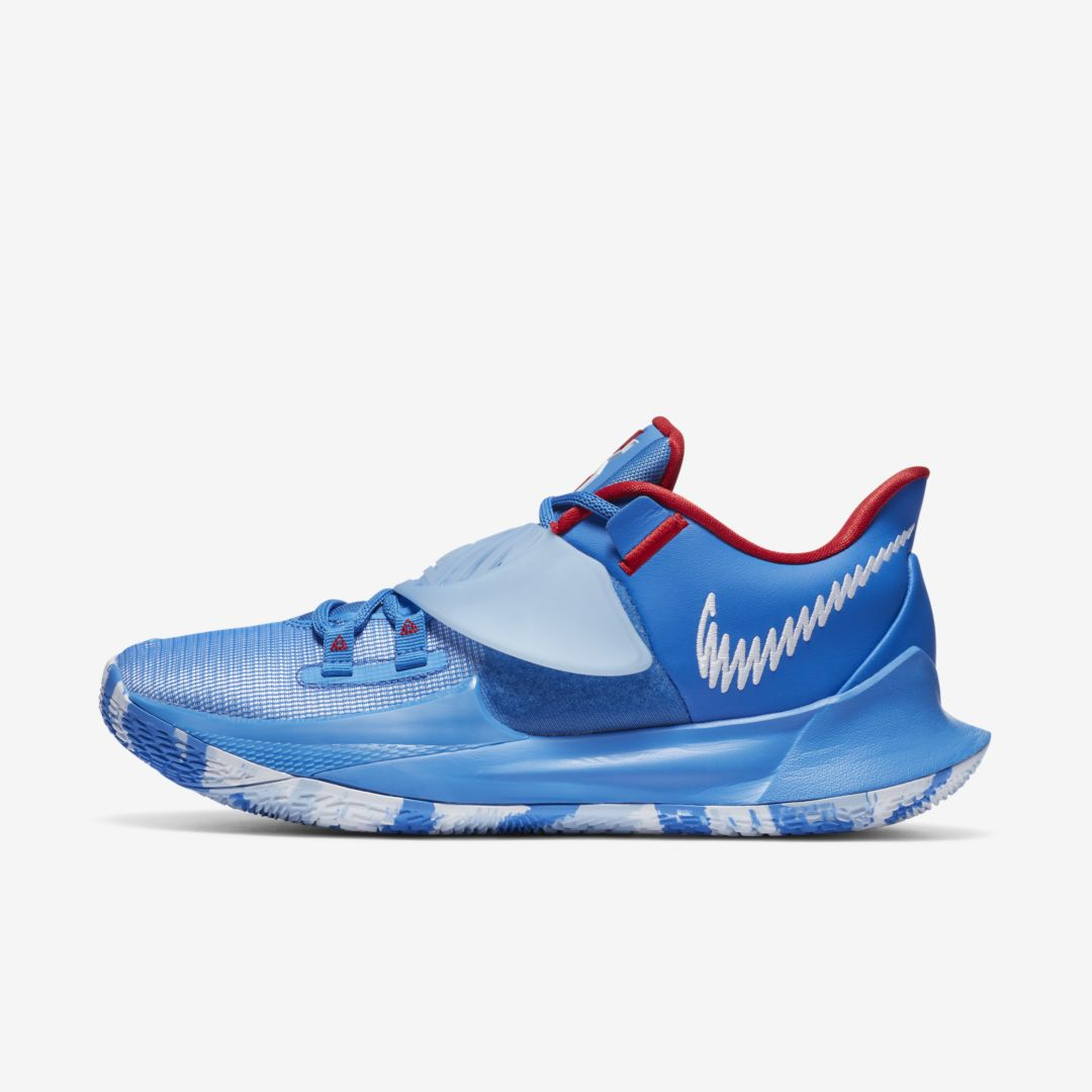 NIKE KYRIE LOW 3 BASKETBALL SHOE (PACIFIC BLUE)