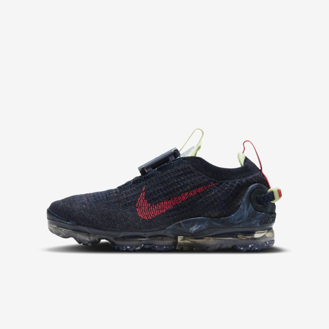 Nike AIR VAPORMAX 2020 BIG KIDS' SHOE (OBSIDIAN)