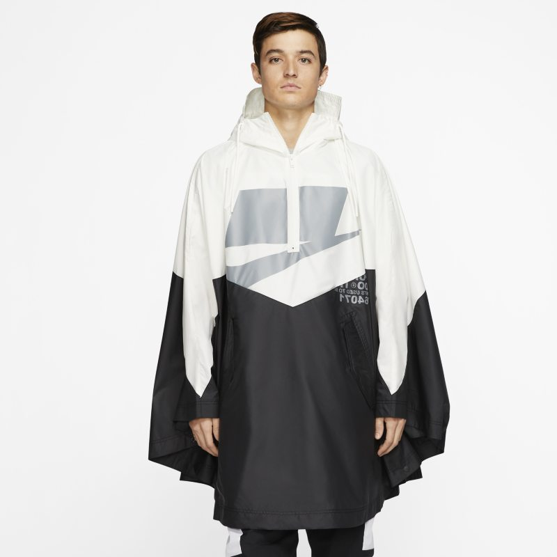 Nike Sportswear Windrunner Poncho - Hombre - Crema