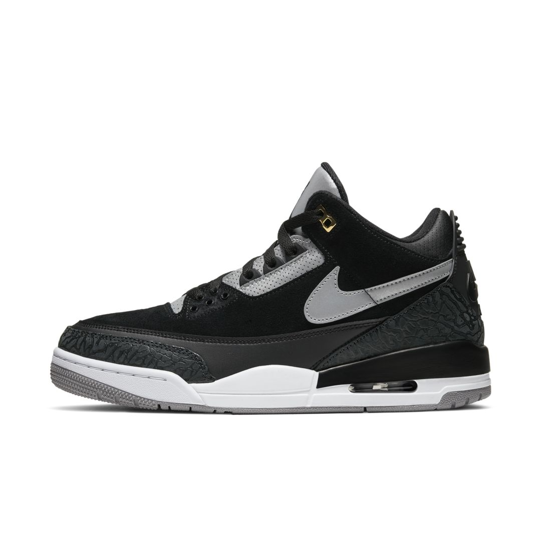 Air Jordan 3 Retro Tinker Men's Shoe Size 10 (Black)