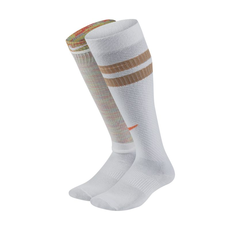 Nike Everyday Kids' Lightweight Over-the-Calf Socks (2 Pairs) - Multi-Colour