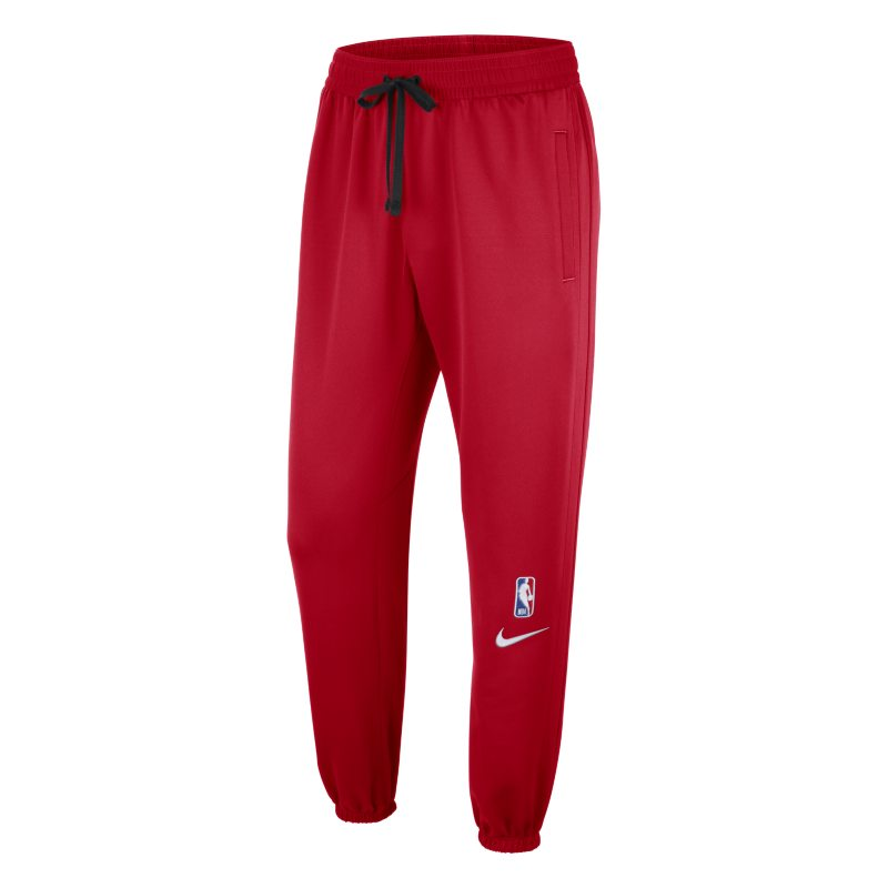 Chicago Bulls Showtime Men's Nike Therma Flex NBA Trousers - Red