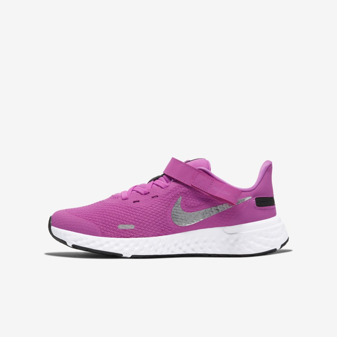 Nike Lingerie REVOLUTION 5 FLYEASE BIG KIDS' RUNNING SHOE (WIDE)