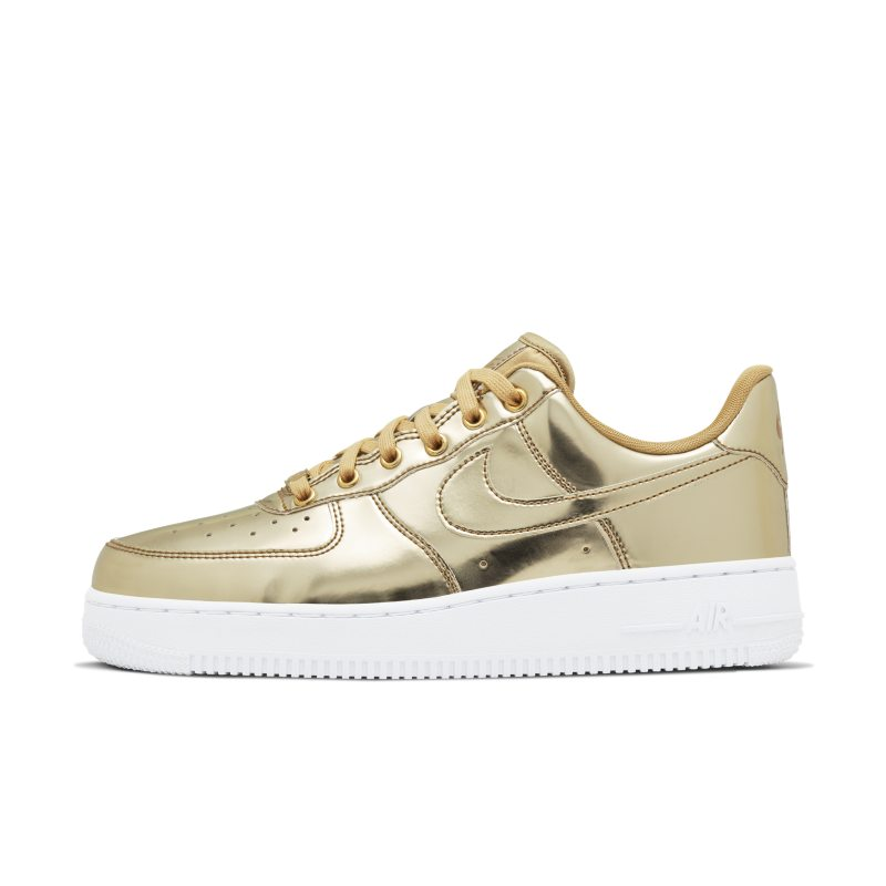 Nike Air Force 1 SP Zapatillas - Mujer - Oro