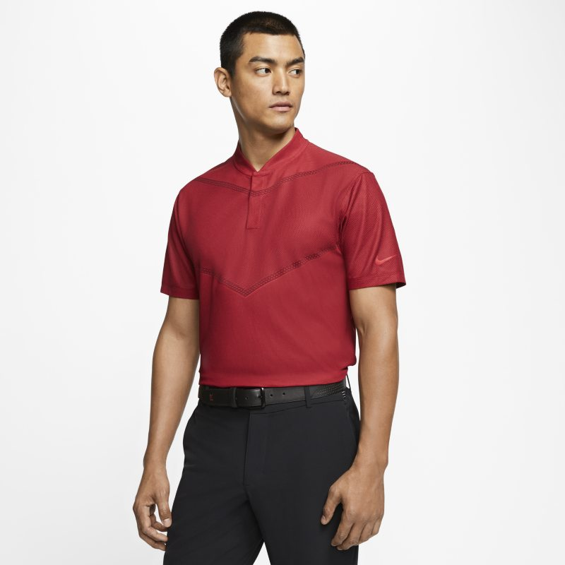 Nike Dri-FIT Tiger Woods Men's Golf Polo - Red