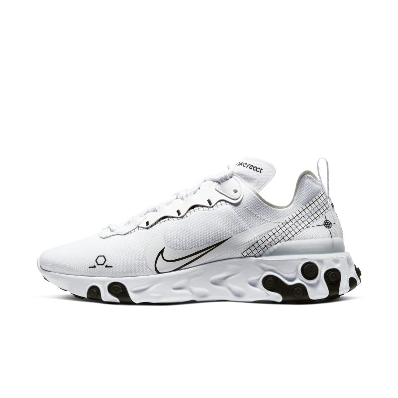 Nike React Element 55 Men's Shoe – White