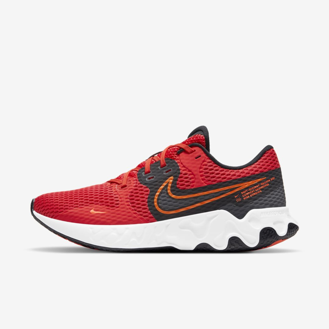 Nike Activewears RENEW RIDE 2 MEN'S RUNNING SHOE (CHILE RED)