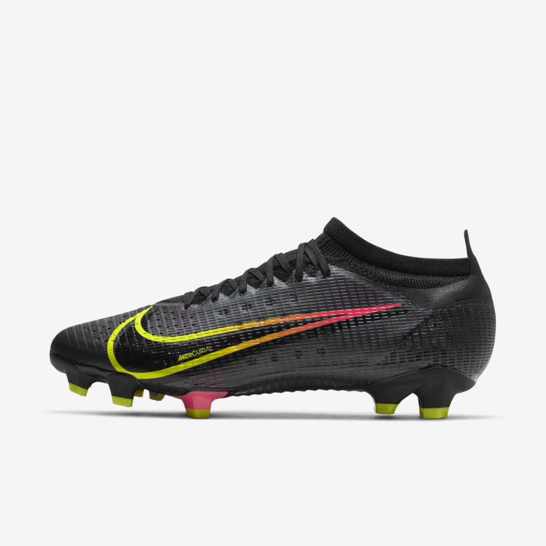 Nike Shoes MERCURIAL VAPOR 14 PRO FG FIRM-GROUND SOCCER CLEAT (BLACK)