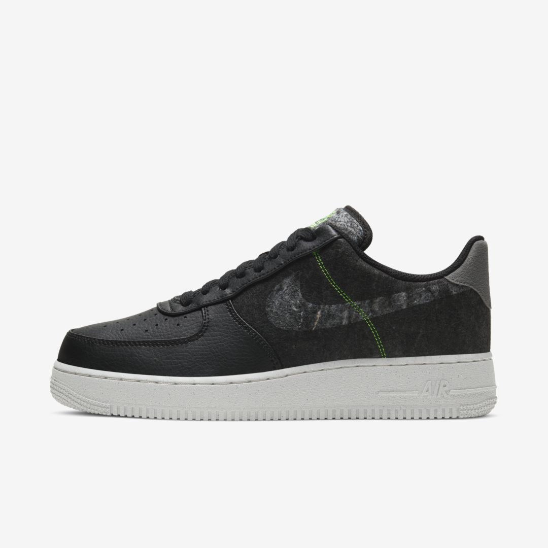 Nike AIR FORCE 1 '07 LV8 MEN'S SHOE (BLACK)