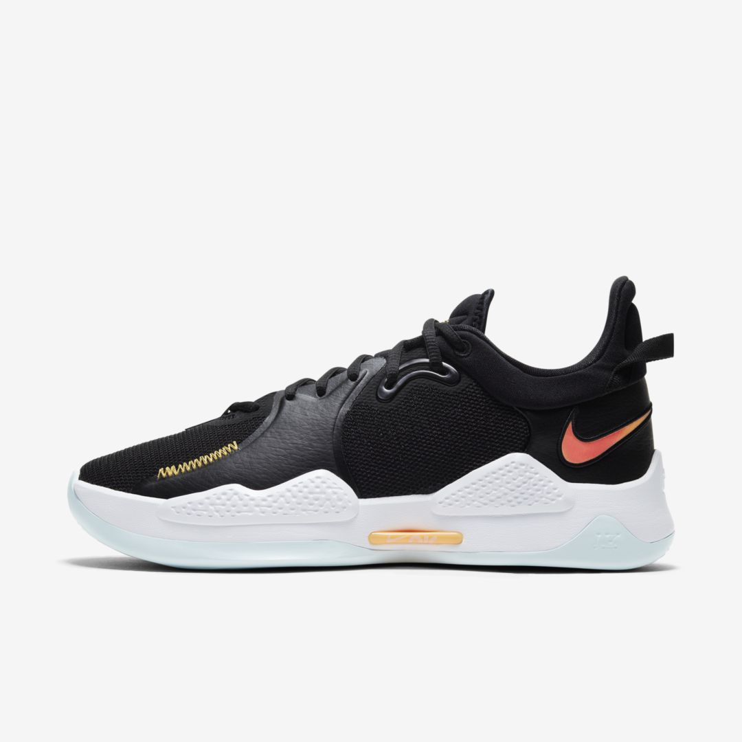 NIKE PG 5 BASKETBALL SHOE (BLACK)