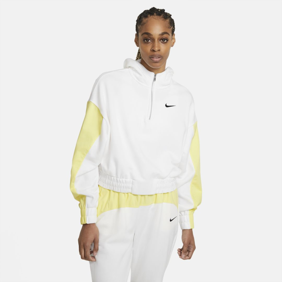 Nike Hoodies SPORTSWEAR ICON CLASH WOMEN'S HOODIE (WHITE)