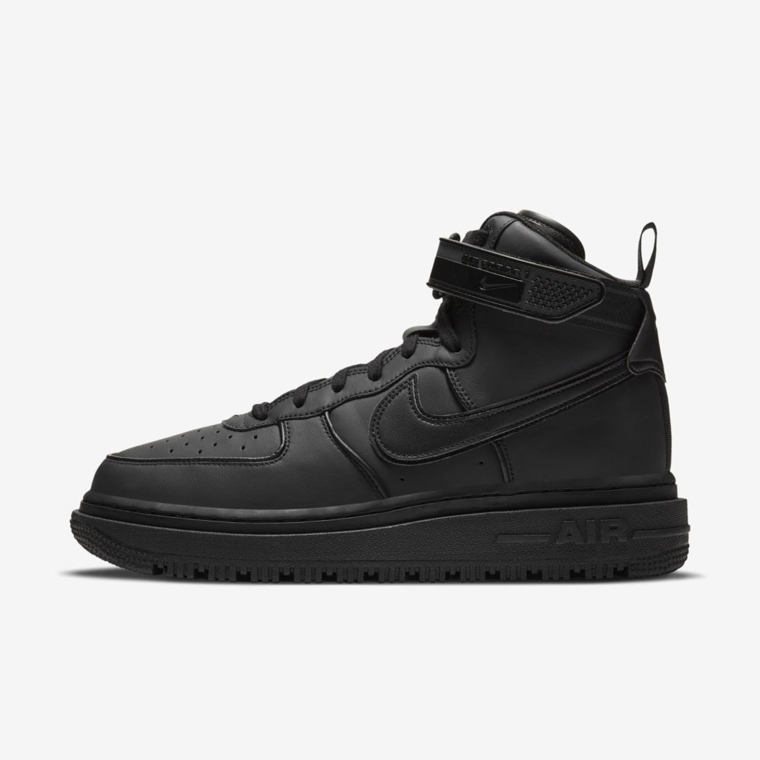 Nike Leathers AIR FORCE 1 MEN'S BOOT (BLACK)