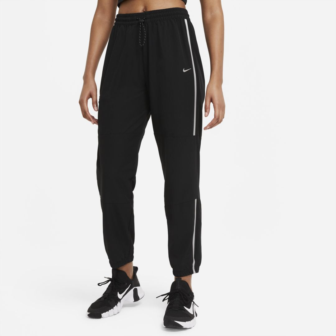 Nike PRO WOMEN'S WOVEN PANTS (BLACK)