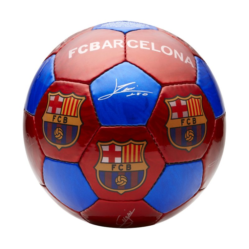 FC Barcelona Large Football - Red