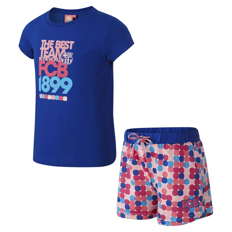 FC Barcelona Two-Piece Younger Kids'(Girls') Pyjamas - not applicable