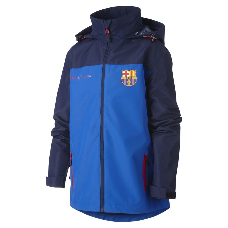 FC Barcelona Active Older Kids'Jacket - Blue