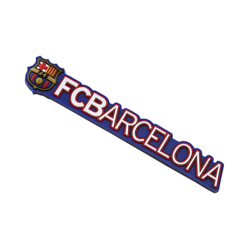 Image of FC Barcelona Plated Crest Key Chain Multi Colour