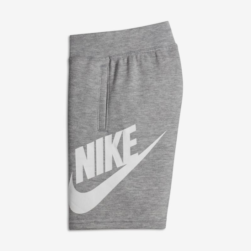 Nike French Terry Alumni Younger Kids'(Boys') Shorts - Grey