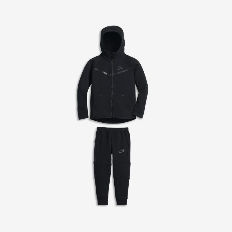 Nike Tech Fleece Toddler 2-Piece Set - Black