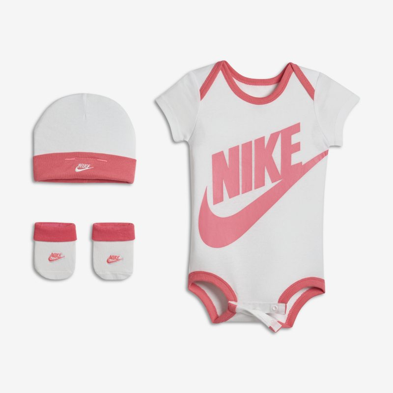 Nike Futura Three-Piece Baby&Toddler Girls' Set - Pink