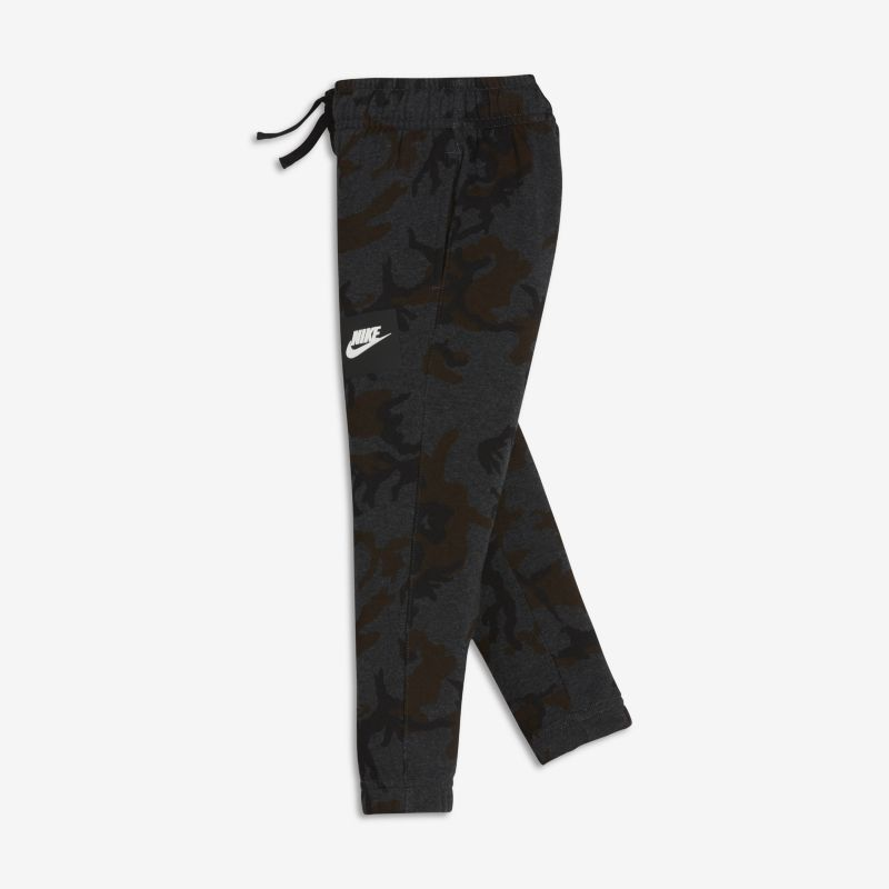 Nike Sportswear Younger Kids'(Boys') Printed Joggers - Black