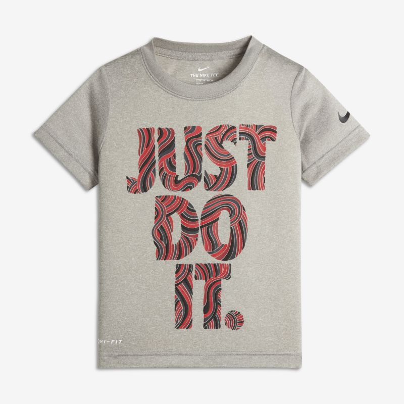 Nike Dri-FIT Just Do It Baby& Toddler T-Shirt - Grey