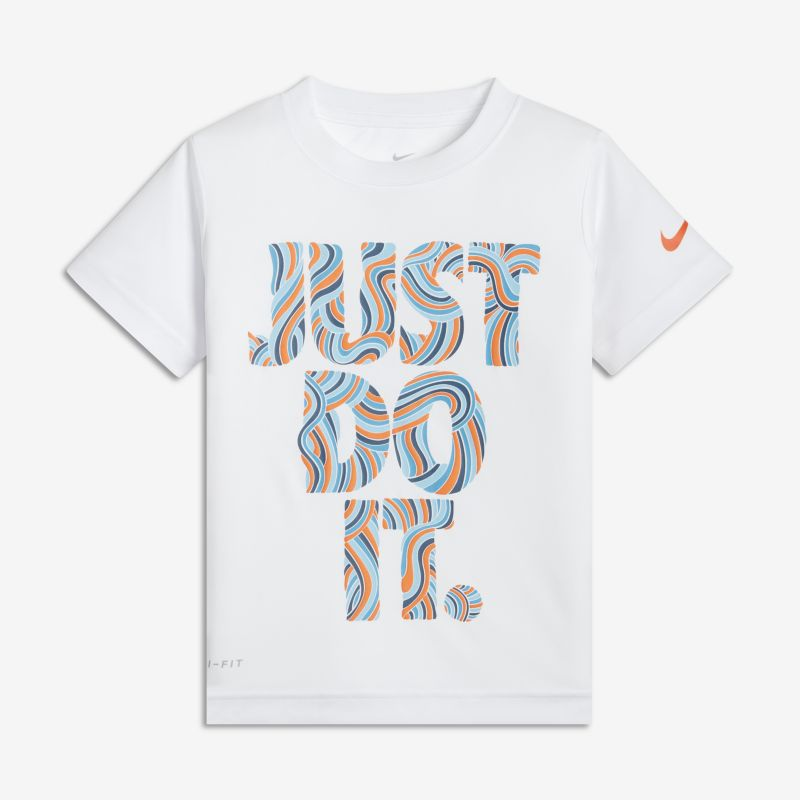 Nike Dri-FIT Just Do It Baby& Toddler T-Shirt - White