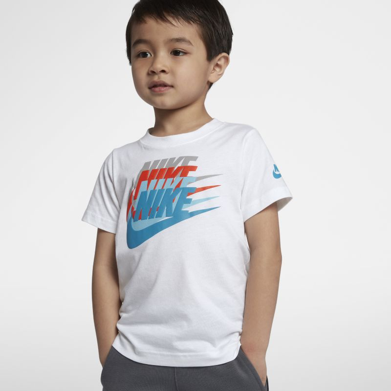Nike Sunset Futura Younger Kids'(Boys') T-Shirt - White