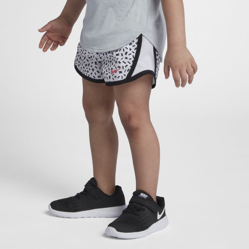 Nike Dri-FIT Tempo Baby& Toddler Girls'Printed Shorts - White
