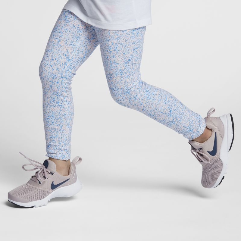 Nike Sportswear Club Baby& Toddler Girls'Printed Leggings - White