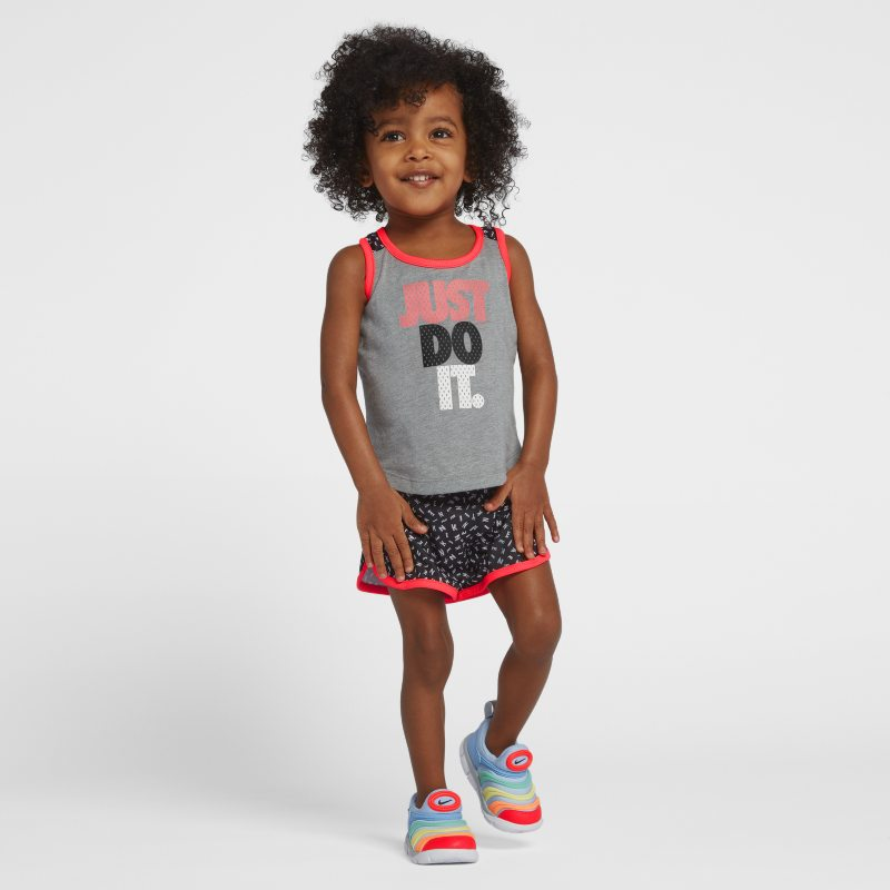 Nike Two-Piece Baby& Toddler Girls' Tank and Shorts - Black