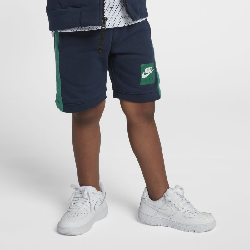Nike Air Younger Kids'(Boys') Knit Shorts - Blue