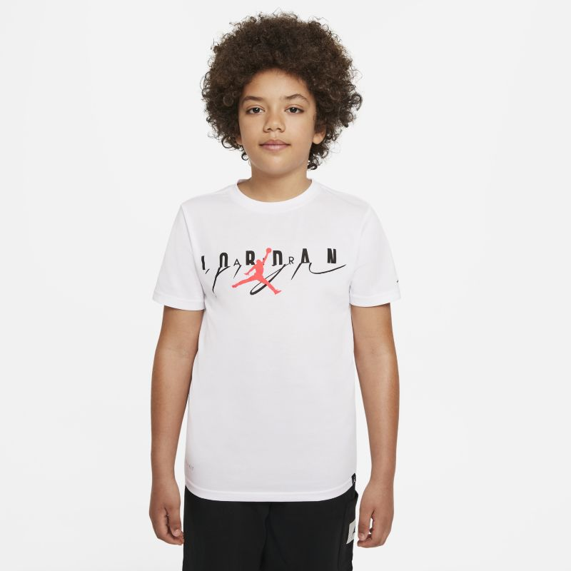 Jordan Air Jumpman Older Kids'(Boys') T-Shirt - White