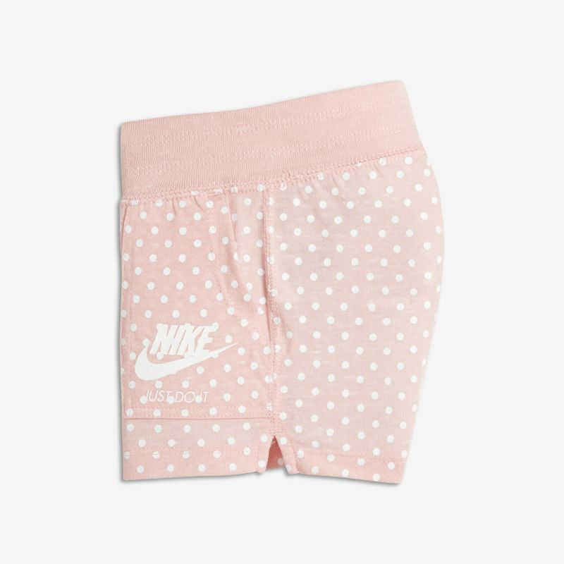 Nike Gym Vintage Baby& Toddler Girls'Printed Shorts - Pink