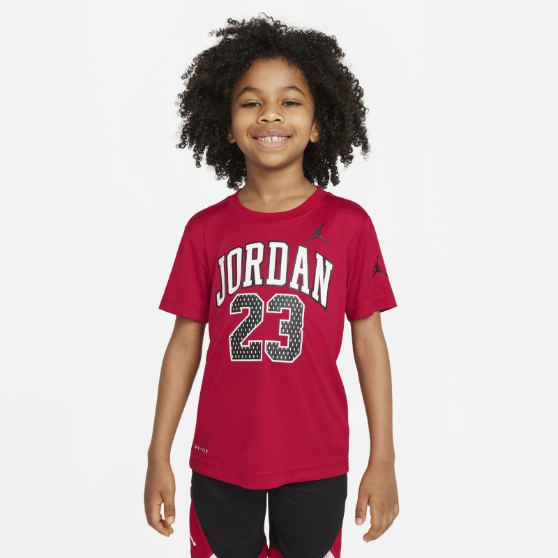 Jordan Dri-FIT 23 Younger Kids' Graphic T-Shirt - Red
