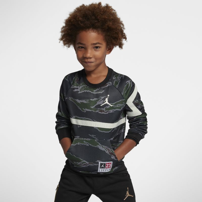 Jordan Therma Diamond Younger Kids' Crew - Olive