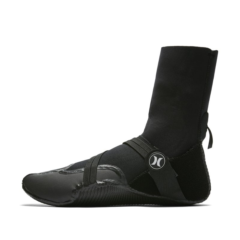 Hurley Phantom 504 Boot Men's Wetsuit Booties - Black