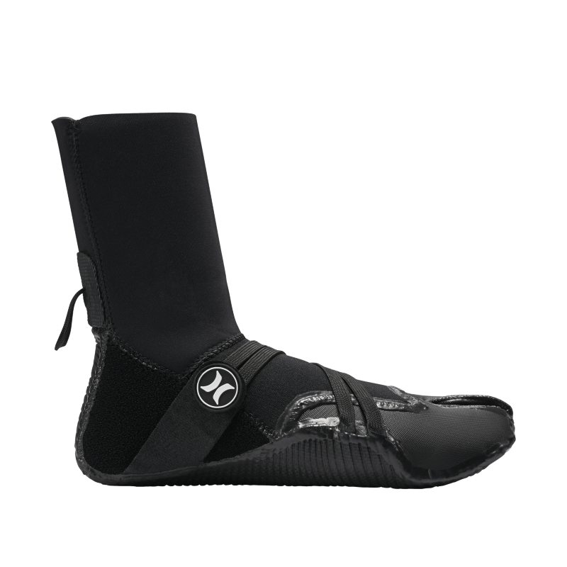 Hurley Phantom 302 Boot Men's Wetsuit Booties - Black