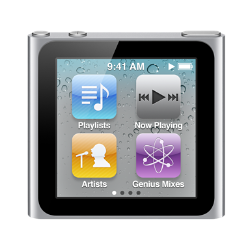 iPod nano 8G (6th generation)