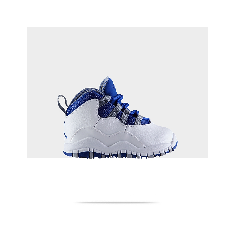 2e1aa07db0d17c Air Jordan 10 Retro Text (2c 10c) Infant Toddler Boys Basketball Shoe